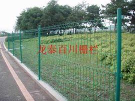 园林绿化钢丝网围栏直销厂家湖北龙泰百川栅栏工程有限公司园林绿化铁丝网围栏现货厂家