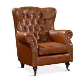 咖啡厅靠背休闲沙发|简约单双人小沙发