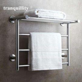 304不鏽鋼電熱毛巾架 外貿酒店公寓專用置物浴巾架