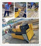 河北鋼管調直除鏽刷漆機是蔬菜大棚鋼管的專用保養機械