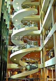 钢结构螺旋楼梯 工厂直销定做
