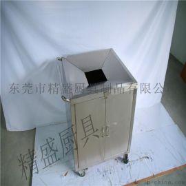 残渣回收车提供厂家 304不锈钢厨房设备 残渣回收车报价