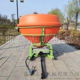 江西全自动化肥抛撒机拖拉机配套撒化肥机