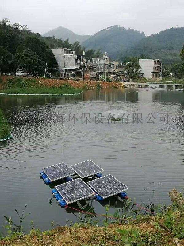 太阳能潜水曝气机,河道治理增氧机