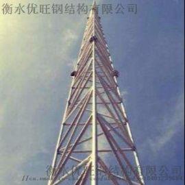 GJT三柱圆钢避雷塔,避雷塔,钢结构,铁塔
