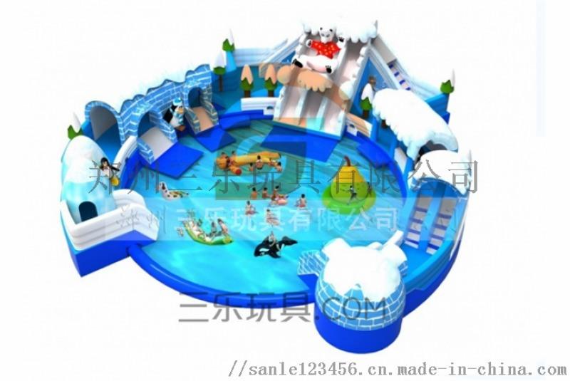 供应全国充气水上滑梯夏季水上乐园