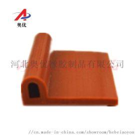 供应耐高温硅胶条P型硅胶密封条硅胶密实条