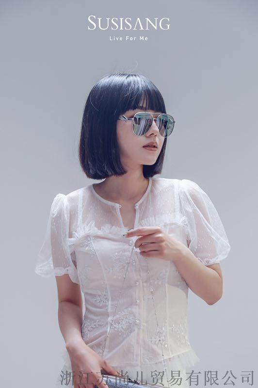 蘇尚兒墨鏡2019天使防UV太陽鏡