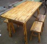 定做餐厅餐台木质桌子板式餐桌饭店桌子餐厅家具厂