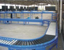 伸缩辊筒输送机生产 线和转弯滚筒线安徽