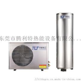家用空气能氟循环304不锈钢  空气能热泵供热供暖主机设备