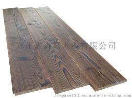 木板材樟子松阳台吊顶隔墙防腐木