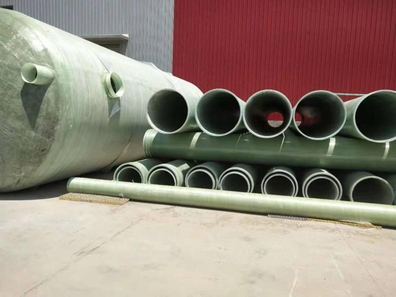 玻璃钢夹砂管公司 玻璃钢高压管道