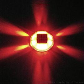 太陽能塑料道釘,圓形PC道釘燈