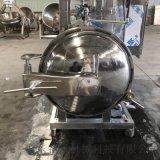 不锈钢平菇单层蒸汽高压杀菌锅