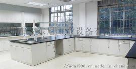 钢木实验室工作台全钢化学试剂台化验室操作台边台定制