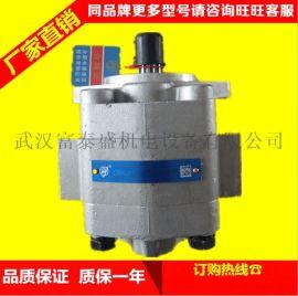 合肥长源液压齿轮泵CBHC-F16-ALΦ电动叉车低噪音齿轮油泵