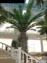 重庆室内玻璃钢椰子树 重庆室外假椰树 重庆玻钢椰树 大王椰 重庆海南椰生产批发