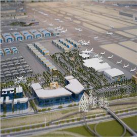 迪拜国际航空模型沙盘制作城市整体规划城镇沙盘