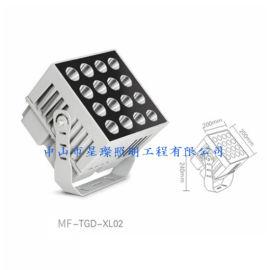 LED户外亮化照明工程 9*5w窄束光投光灯 45w一束光射灯聚光灯
