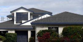 彩石金属瓦屋面瓦七波瓦彩钢屋顶改造翻新瓦木屋瓦