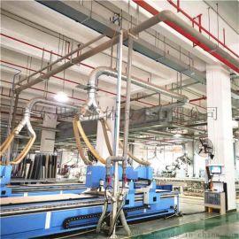 佛山低压螺杆空压机节能空气管道安装