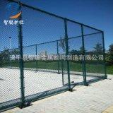 球场围网 厂家定制篮球场浸塑 防护网钢丝安全网 勾花隔离护栏网