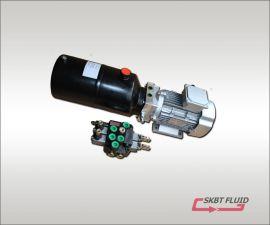 380伏3KW举升液压动力单元配手动多路阀带微动开关