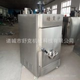 供应济宁熏鸡糖熏炉设备 定制大中小各种型号常规异型烟熏机器