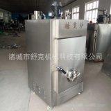 供應濟寧薰雞糖薰爐設備 定制大中小各種型號常規異型煙薰機器