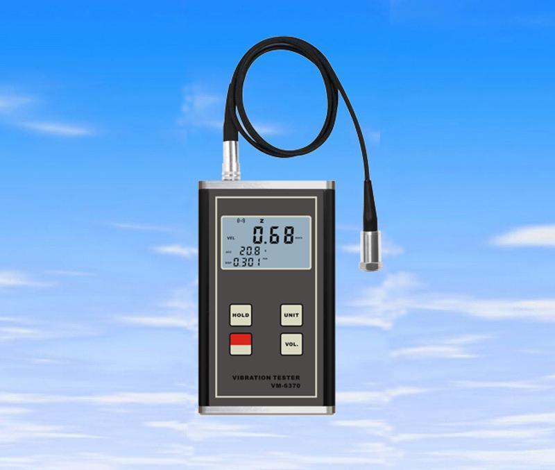 機械振動儀,數位式振動儀,測振儀VM6380