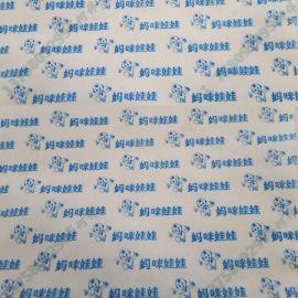 新价供应多种单色印刷水刺无纺布_定制卫材印花布生产厂家