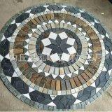 廠家提供 加厚青石材 鏽色青石材 地面碎拼青石材