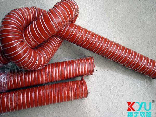 耐高温软管,矽胶高温风管,定型伸缩风管