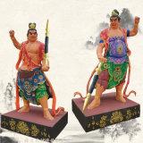 彩绘哼哈二将   神将 二十四诸天 佛教神像定制