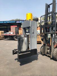 广西来宾市全自动液压大豆花生商用榨油机 全套设备