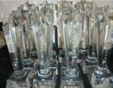 西安水晶奖杯制作--做奖杯 找策腾 西安水晶奖杯制作
