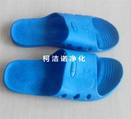 SPU防静电拖鞋 凉鞋 无尘工作拖鞋 塑胶PU一次成型  劳保用品