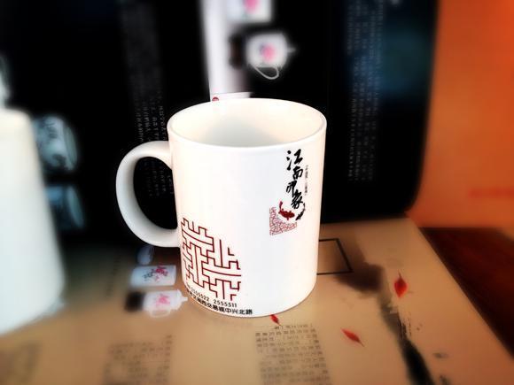 白色陶瓷杯子批发广告陶瓷杯子定做LOGO促销广告礼品陶瓷杯马克杯