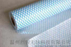 印花擦拭布 斜纹 鱼鳞纹 菱形纹 印花抹布 清洁布 无纺布工厂批发