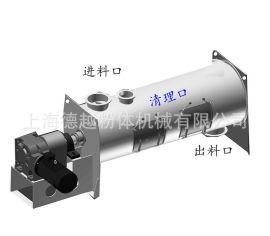 德越机械DTHX-5000连续式犁刀混合机,膏状物料混合机