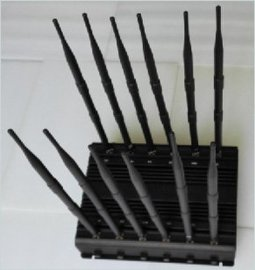 全频段12路手机信号屏蔽仪器 无线网络屏蔽器