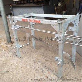 家禽屠宰流水线用:不锈钢直线卸钩器、自动卸禽器