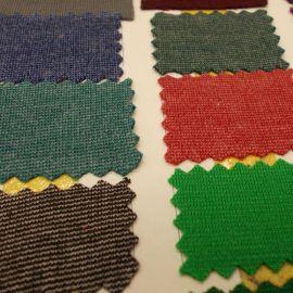 现货供应 针织面料 全涤全棉打鸡布 罗马布 交织面料 打击布
