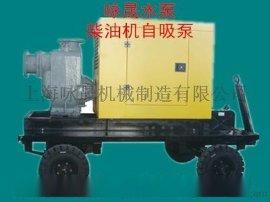 移动泵车 柴油抽水机移动泵车