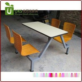 **的快餐桌椅厂家定做 快餐桌椅组合工厂价直销