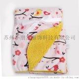 婴儿毛毯 卡通超柔儿童加厚保暖毯子 一毯多用 全家适用 现货批发