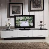 現代簡約電視櫃 烤漆鋼化玻璃