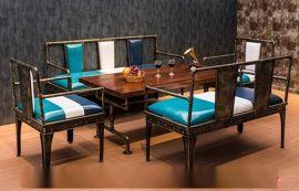 销售实木复古休闲餐厅桌椅 **吧吧台 吧椅