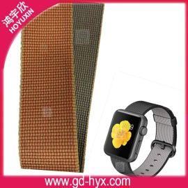 深圳观澜工厂生产用于watch尼龙表带苹果尼龙编织表带 苹果手表apple表带